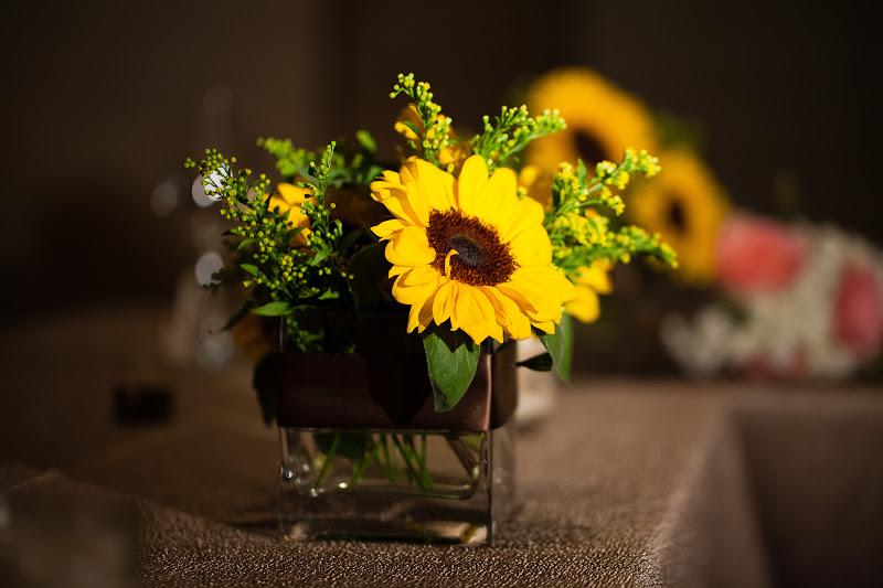 Unforgettable Floral Sunflower Wedding