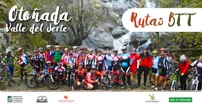 Rutas BTT Otoñada 2016. Valle del Jerte