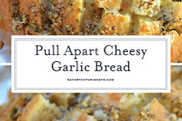 Pull Apart Cheesy Garlic Bread