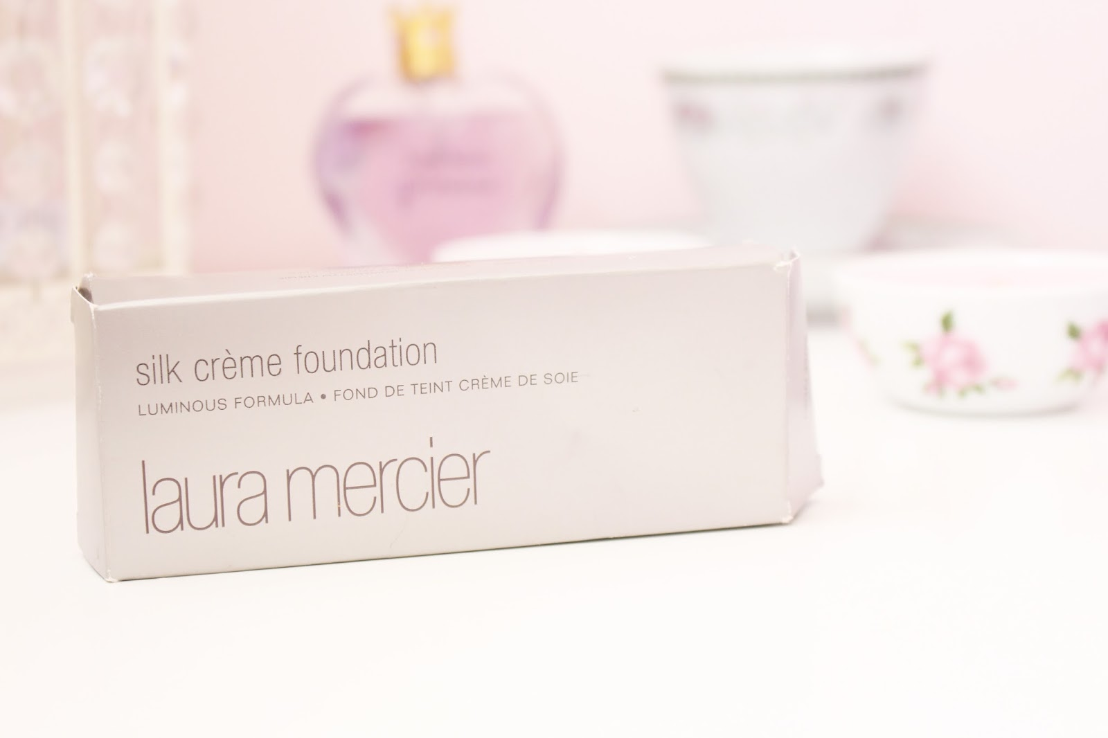 Laura Mercier Silk Creme Foundation Rose Ivory Review Blog