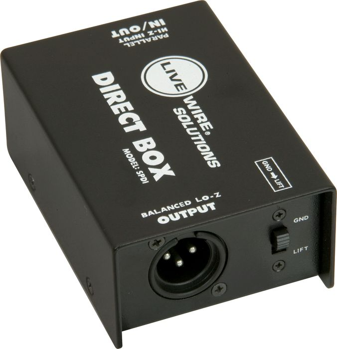 rex and the bass live wire solutions spdi passive direct box review