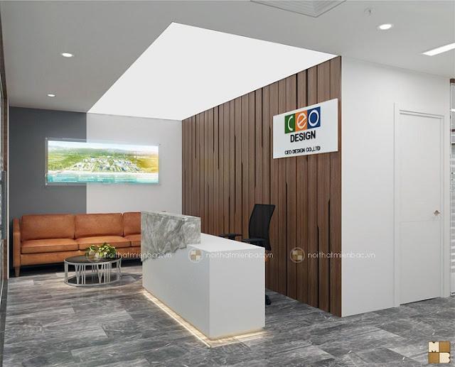 Thiết kế văn phòng chuẩn thể hiện đẳng cấp doanh nghiệp - H1