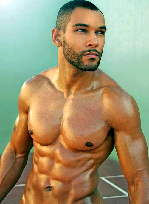 Beauty of Male Muscular Body - Ripped and Hard Muscles
