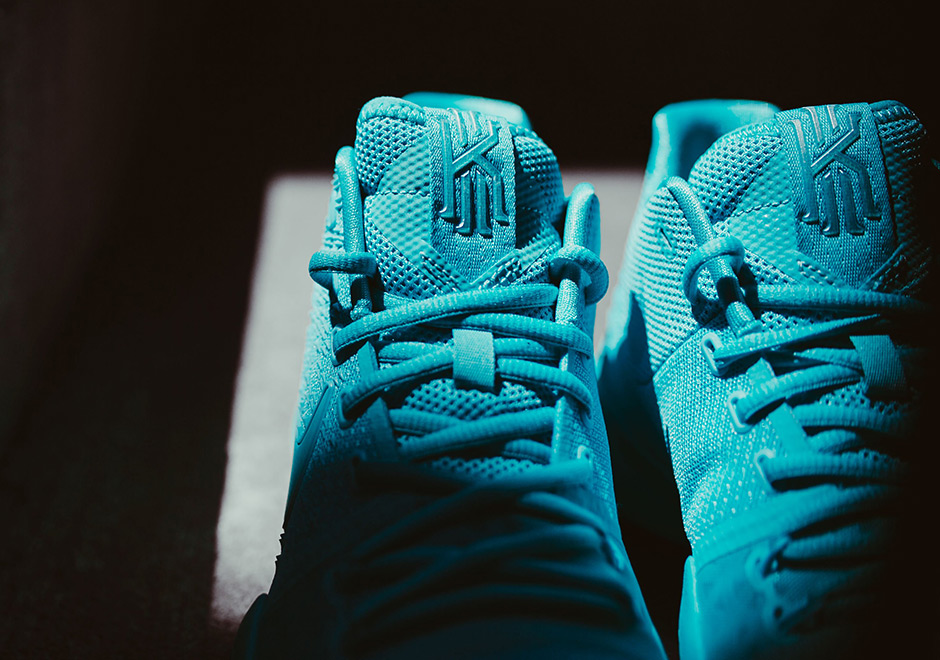 check out c2ad2 5c3bf ... top to bottom in the aqua hue with just a touch of black and white for  the outsole s strategic traction zones. Pairs are available now at select  Nike ...