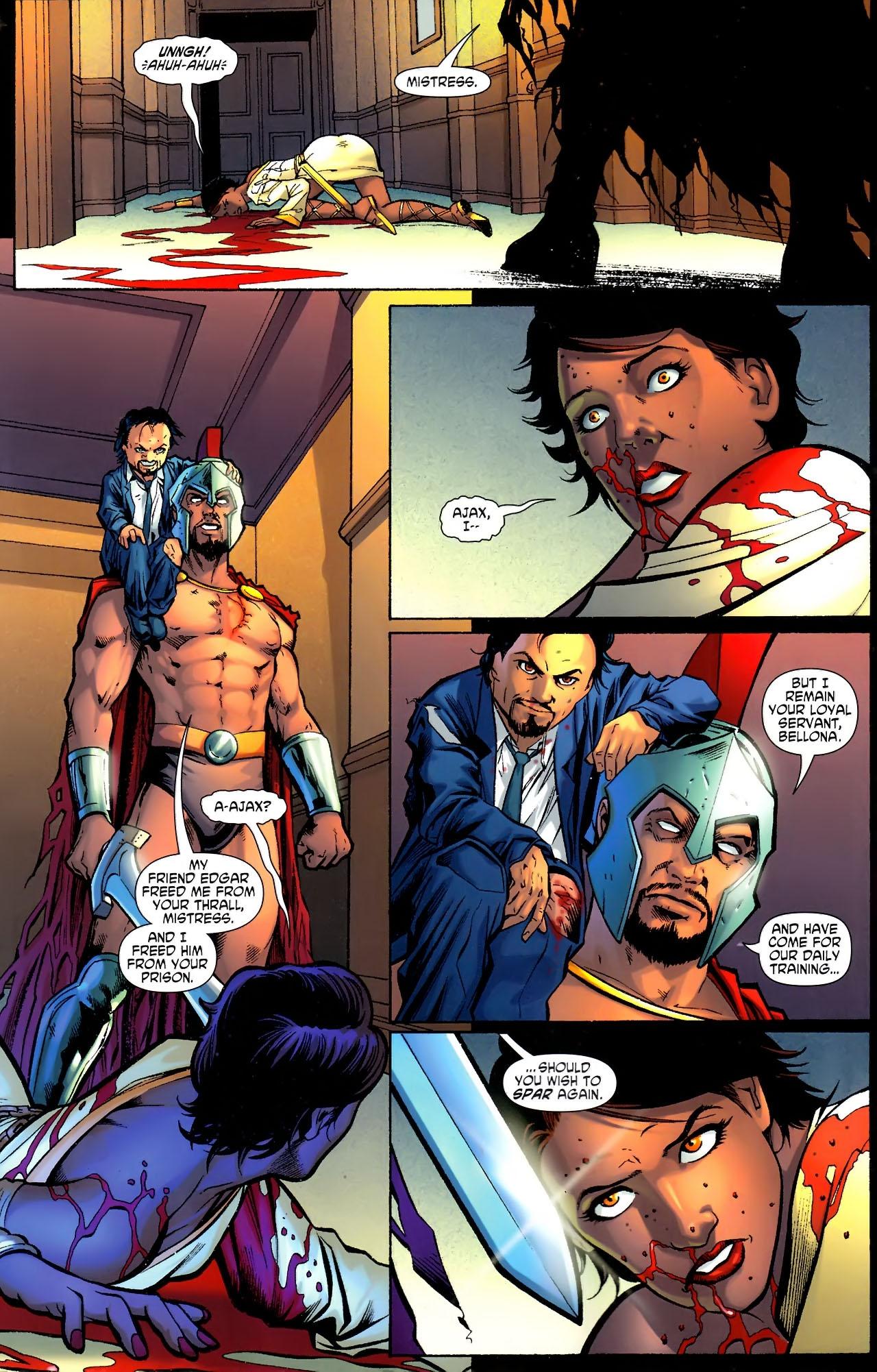 Read online Wonder Woman (2006) comic -  Issue #611 - 12