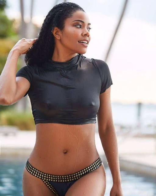Gabby Union in bikini