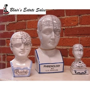 Phrenology Heads on EstateSale.Company site
