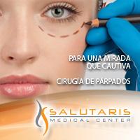 Cirugia estetica plastica de parpados o blefaroplastia en Salutaris Guadalajara
