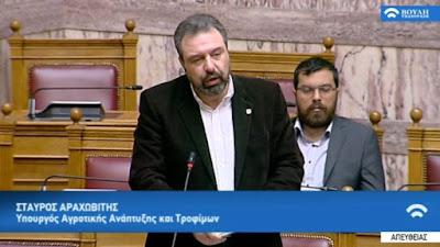 Ψηφίστηκε τροπολογία για το πρόγραμμα καταπολέμησης του δάκου