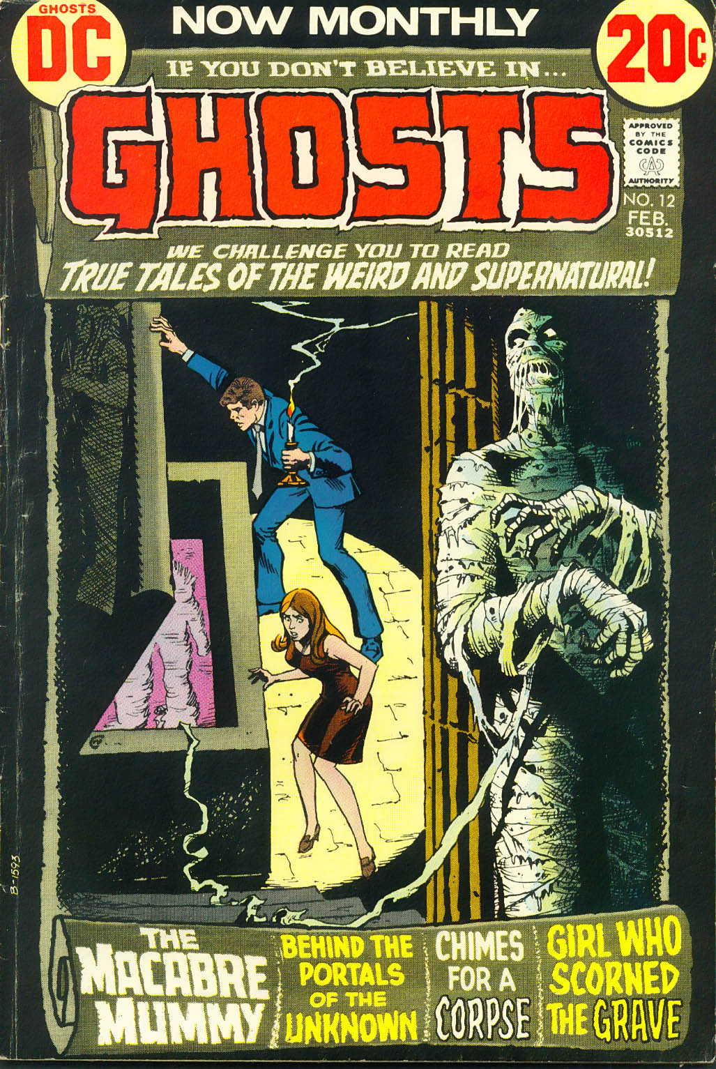 Read online Ghosts comic -  Issue #12 - 1