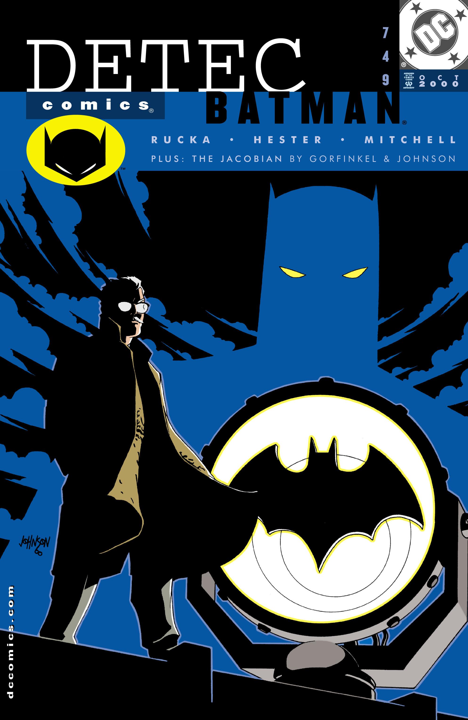 Detective Comics (1937) 749 Page 1