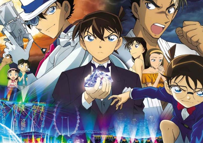 Detective Conan Movie 23: The Fist of Blue Sapphire Subtitle Indonesia - KuroGaze