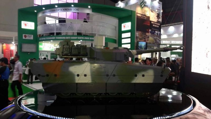 Tank Medium Turki-Pindad