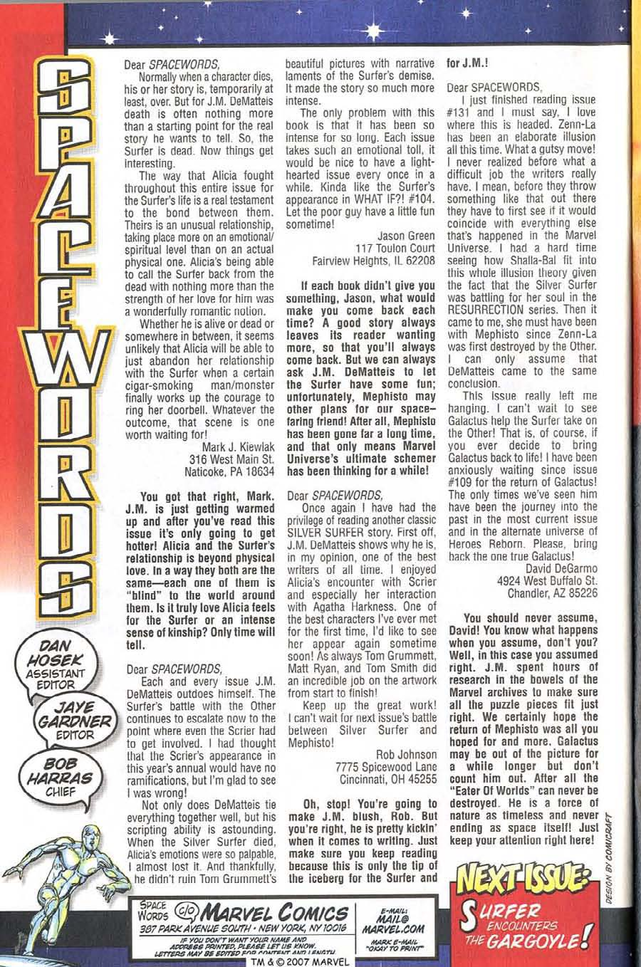 Read online Silver Surfer (1987) comic -  Issue #138 - 36