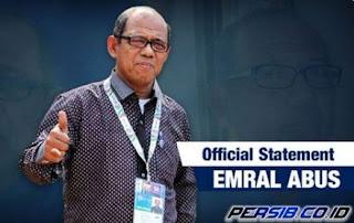 Emral Abus Resmi Jadi Pelatih Persib Bandung