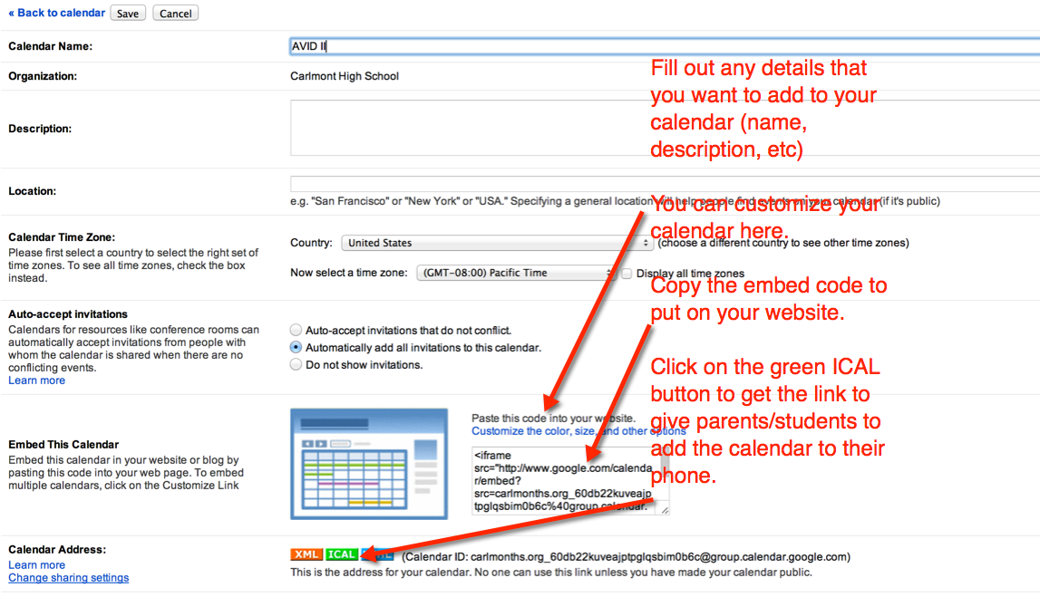 Moving Forward: Lesson Planning Using Google Calendar