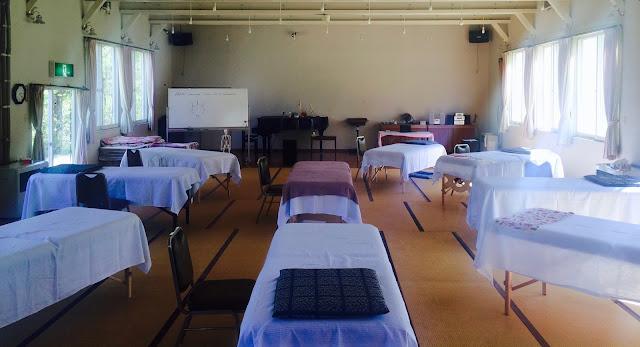 トレーニング会場の写真