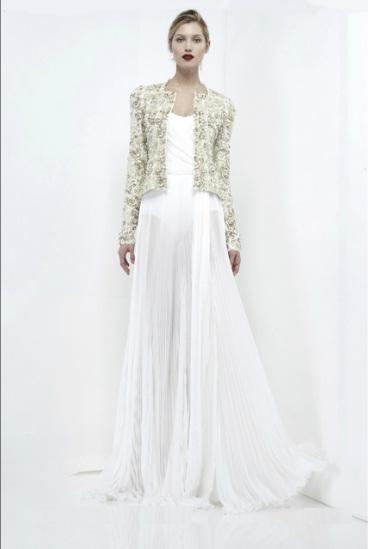 elegante bereit lange kleider von zuhair murad kollektionen 2012 tragen. Black Bedroom Furniture Sets. Home Design Ideas
