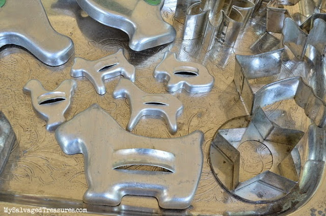 vintage flea market finds cookie cutters