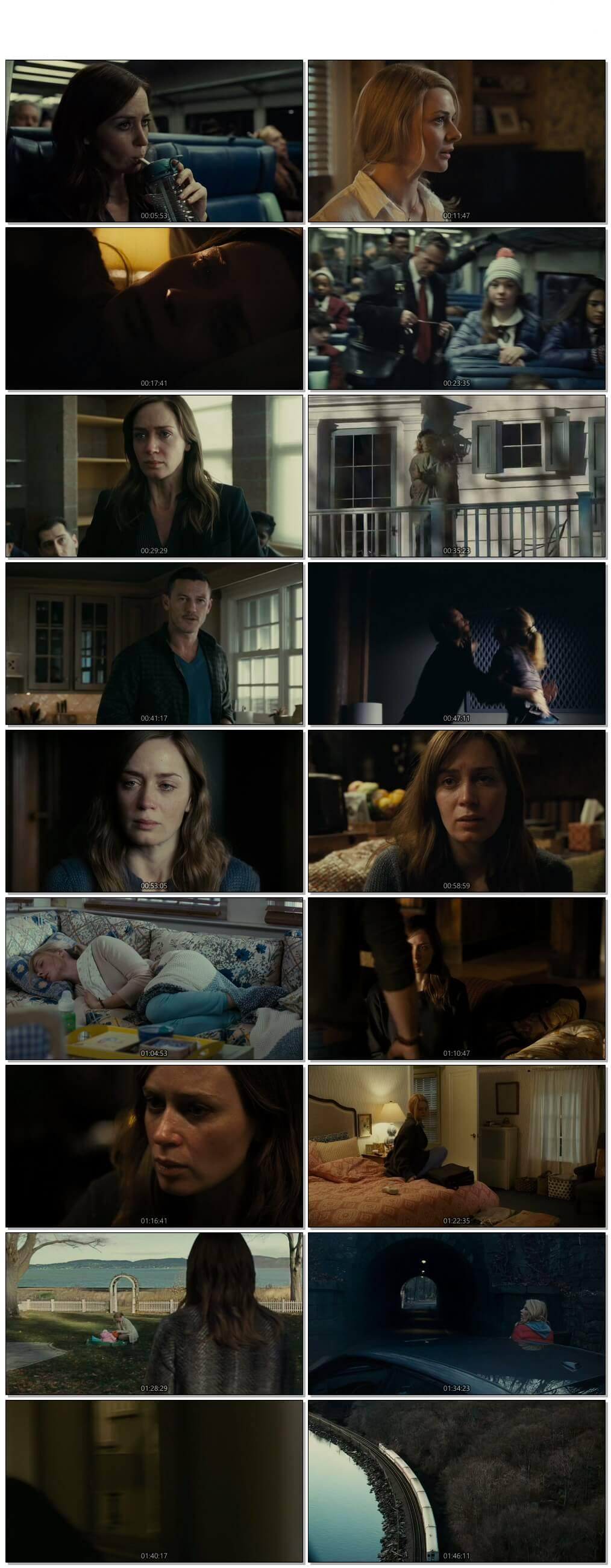 Screen Shot Of The Girl on the Train 2016 Full Movie Download Free Watch Online 300MB