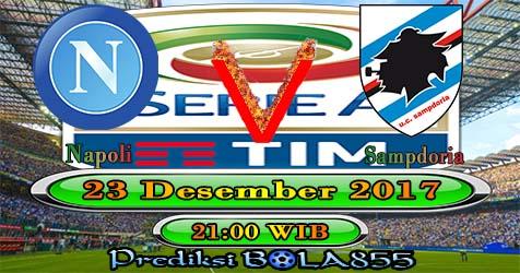 Prediksi Bola855 Napoli vs Sampdoria 23 Desember 2017