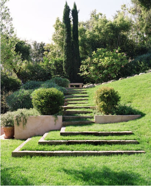 What Makes Tuscan Landscape Design So Elegant Design: Creative Stairs And Stairway Designs For The Garden » Sage