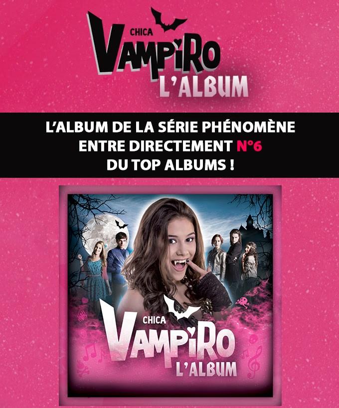 Chica Vampiro entre N°6 du Top Albums