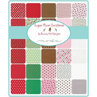 Moda Sugar Plum Christmas Fabric by Bunny Hill Designs for Moda Fabrics