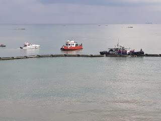 UPP Klas III Indramayu Lakukan Emergency Drill Marine Pollution Bersama Migas Pertamina Balongan