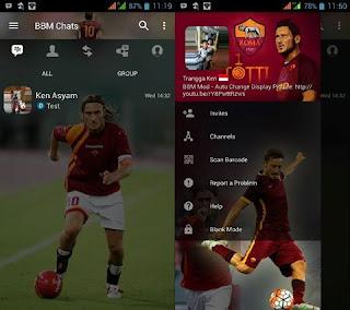 BBM Transparan Terbaru Totti v3.3.1.24 APK