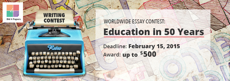 World essay writing competitions