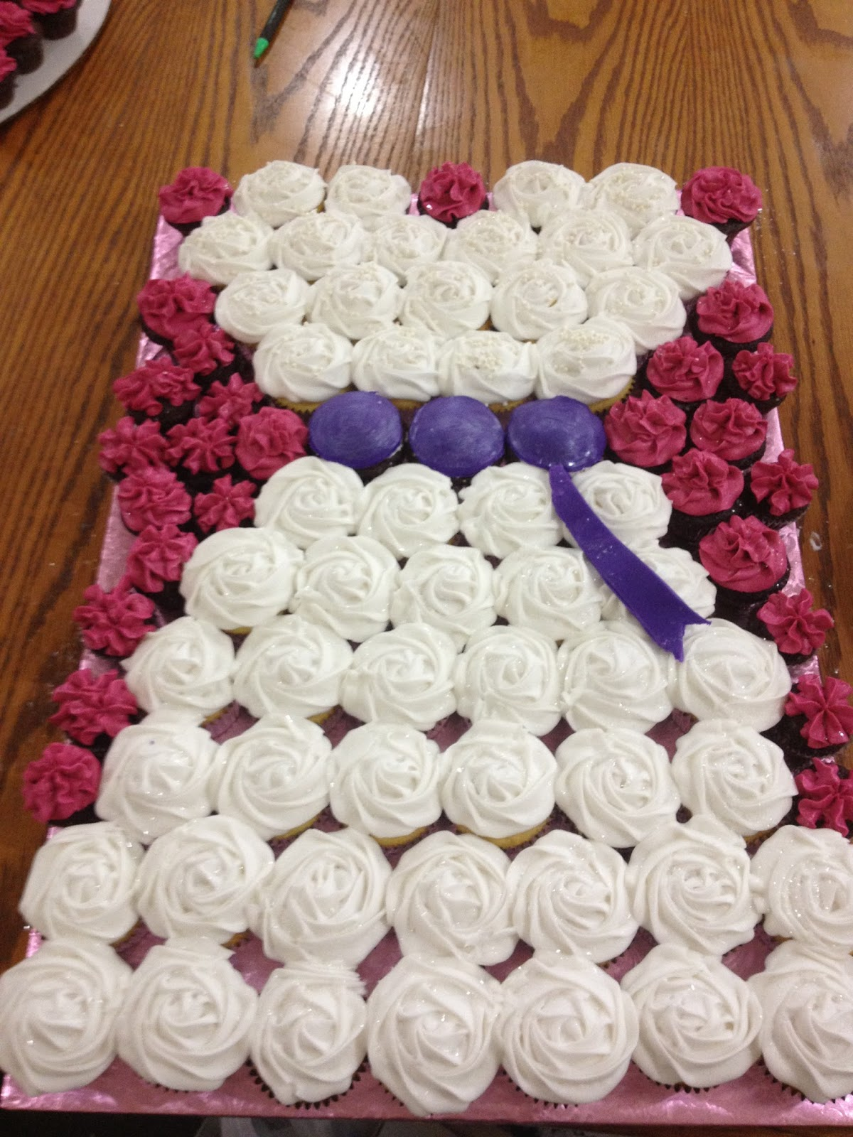 Bridal shower cupcakes | Lincoln's Wedding! | Pinterest