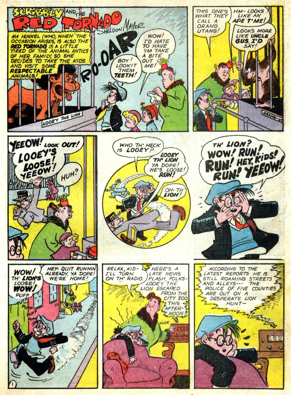 Read online All-American Comics (1939) comic -  Issue #54 - 33