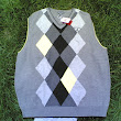 Forever Argyle: The Classic Cool Of Antigua Golf's Argyle Range Sweater Vest