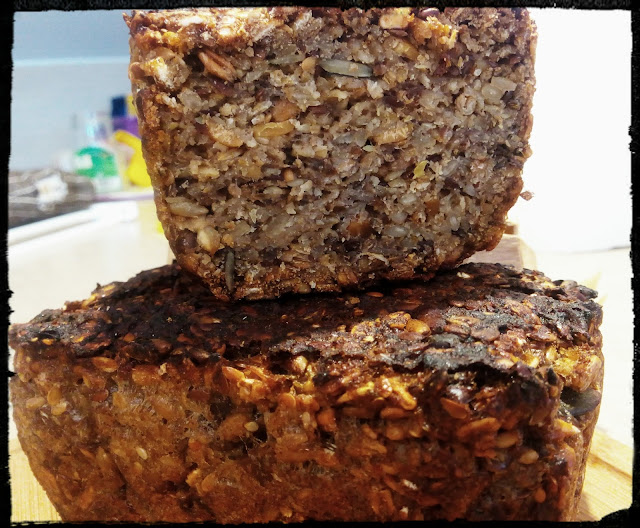 chleb domowy chleb bez maki chleb wieloziarnisty chleb razowy z ziarnami