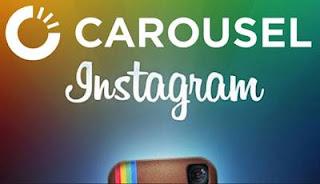 Cara Membuat Carousel Photo Instagram Foto Bergulir Di geser-geser