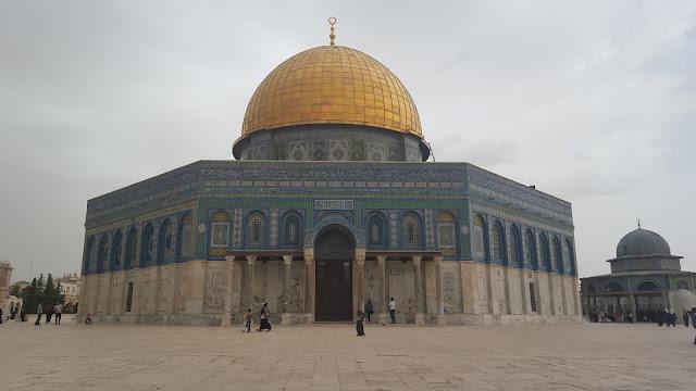 Templo de la Roca, Jerusalem, Israel, Elisa N, Blog de Viajes