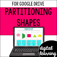 fractions partitioning shapes
