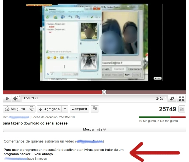 Programe To Steal Yahoo Webcam 105
