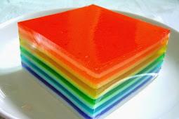 Rainbow Agar Agar (Jelly)