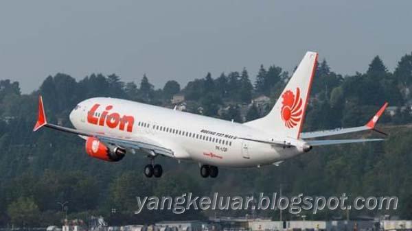 Pesawat Lion Air JT610