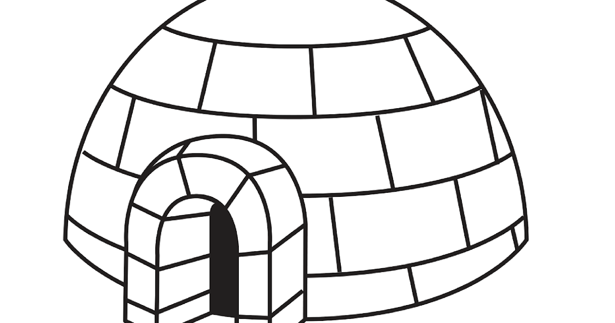Crafting Reality with Sara: Print the I is for Igloo