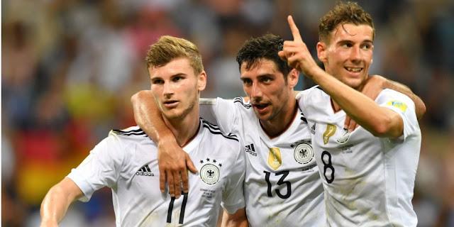 Hasil Pertandingan Jerman vs Meksiko: Skor 4-1