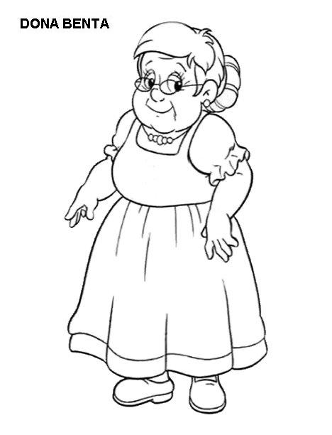 Sitio Do Picapau Amarelo Personagens Para Colorir Aprender E