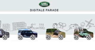 Die längste digitale Land Rover Parade ist am Start und du kannst dabei sein | Gewinnspiel Tipp