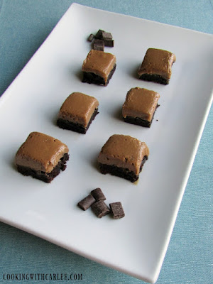 Country Fair Blog Party Blue Ribbon Winner: Cooking with Carlee's French Silk Brownies