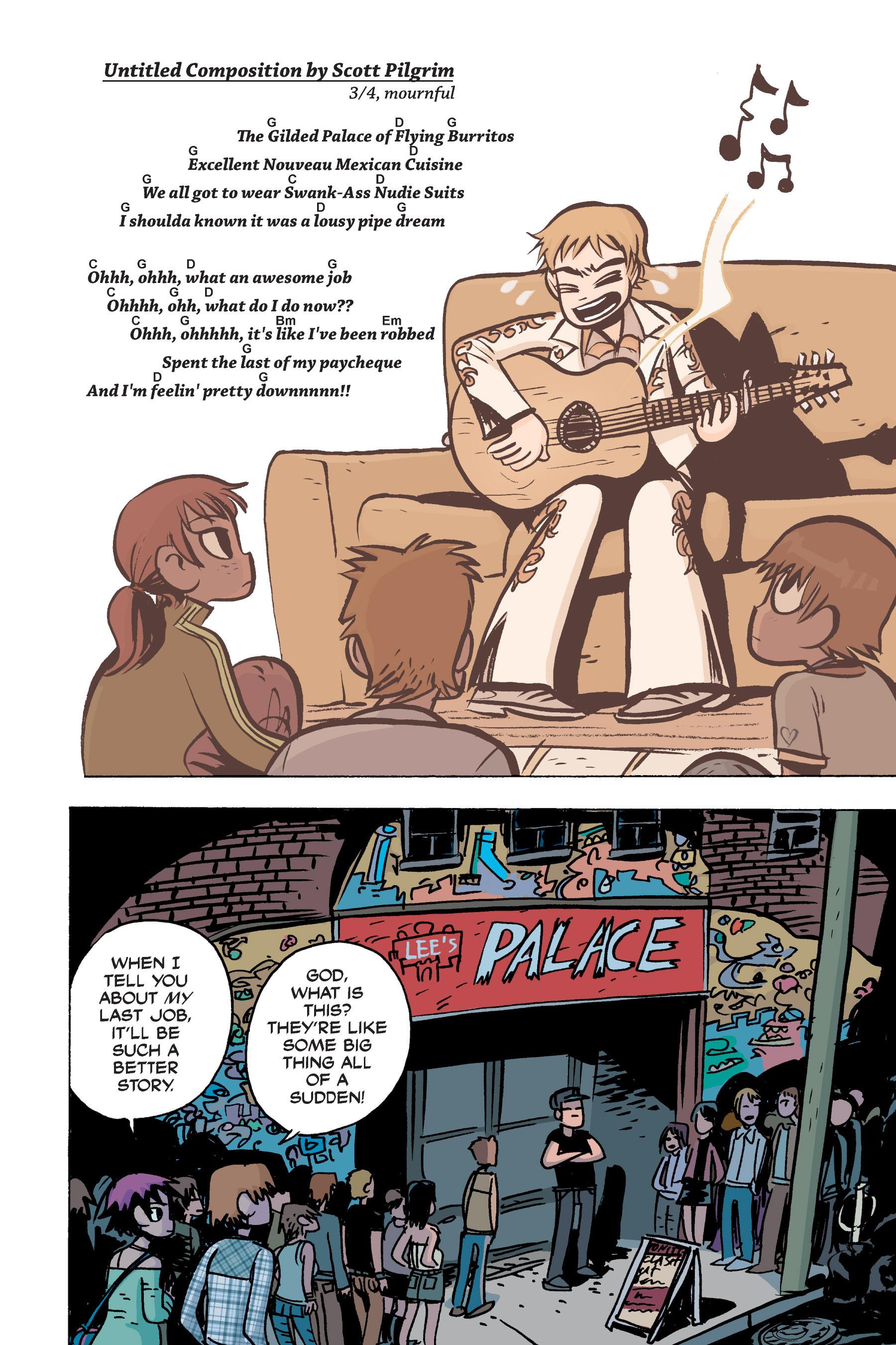 Read online Scott Pilgrim comic -  Issue #2 - 170