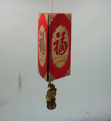 Triangle Lantern for Chinese New Year decor