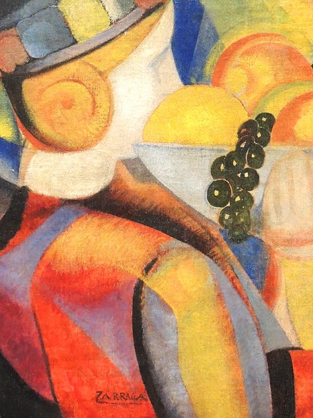 Angél Zarraga - detail uit Petite fille aux fruits