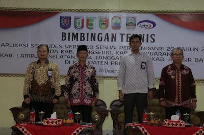 Gelar Bimtek Keuangan di Pringsewu, Kemendagri Target Keuangan Desa di Lampung Lebih Transparan